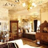 Suite Gallery, Varias camas, bañera de hidromasaje, vista al jardín (75 m²) - Sala de estar