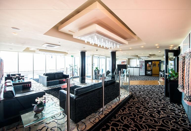 Tiffanys Hotel, Blackpool, Siddeområde i lobby