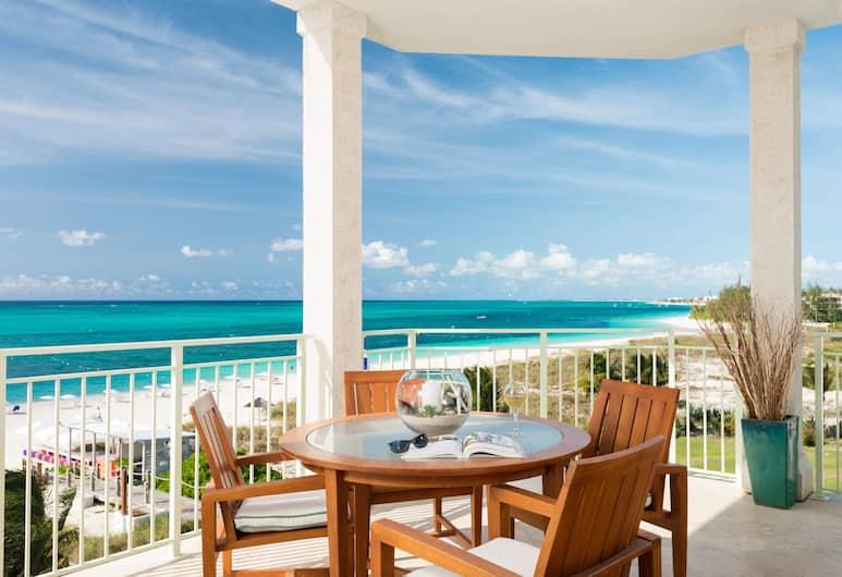 West Bay Club, Providenciales-sziget, Luxus lakosztály, 1 hálószobával, óceánra néző, Strand
