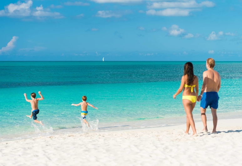West Bay Club, Providenciales-sziget, Strand