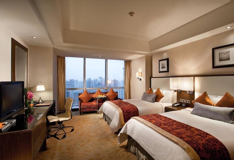 上海西藏大廈萬怡酒店, 上海市, 行政客房, 可使用商務貴賓室, 客房
