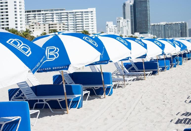리비에르 사우스 비치 호텔, 마이애미 비치, 해변