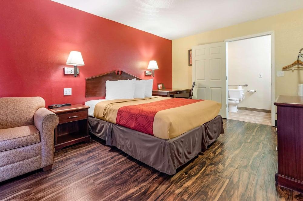 客房, 1 張加大雙人床, 無障礙, 非吸煙房 - 客房