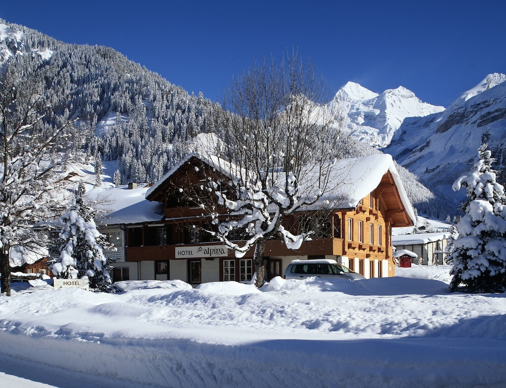 Book Hotel Alpina In Kandersteg Hotelscom - Alpina hotel switzerland