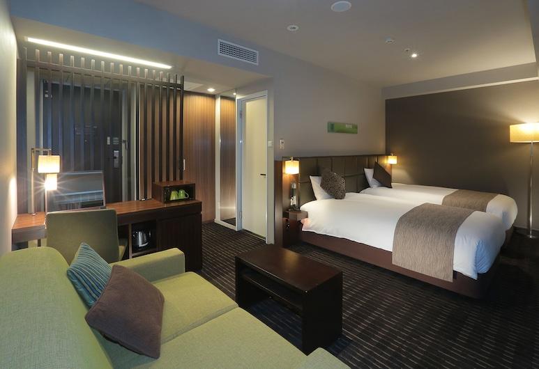 Hotel Gracery Tamachi, Tokyo, Chambre Deluxe avec lits jumeaux, non-fumeurs (5 min train ride to/from Shinagawa), Chambre