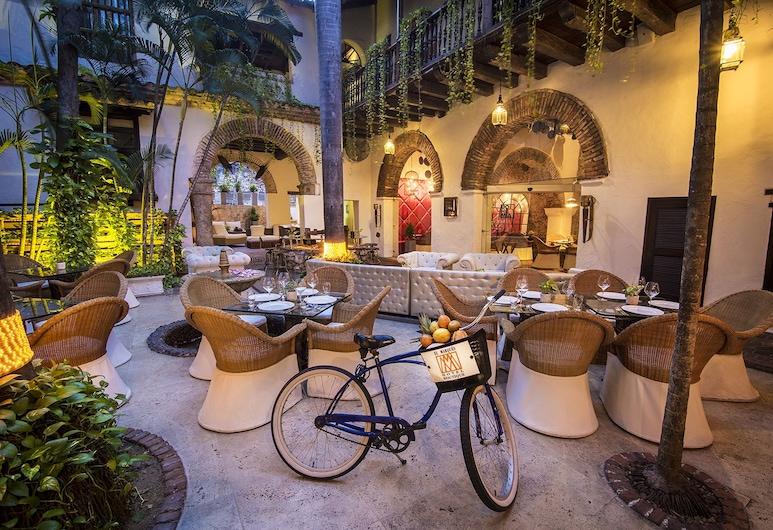 El Marqués Hotel Boutique, Cartagena, Restauration