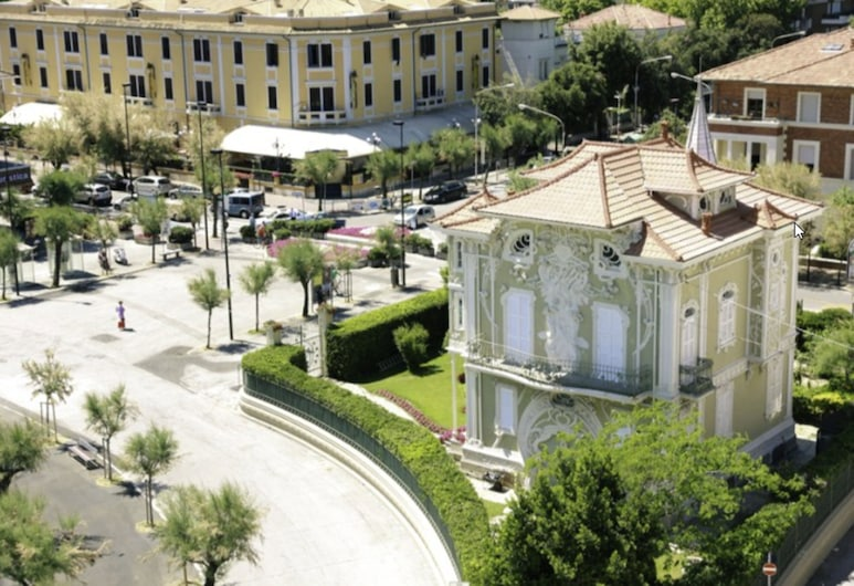 Hotel Des Bains, Pesaro, Välisilme