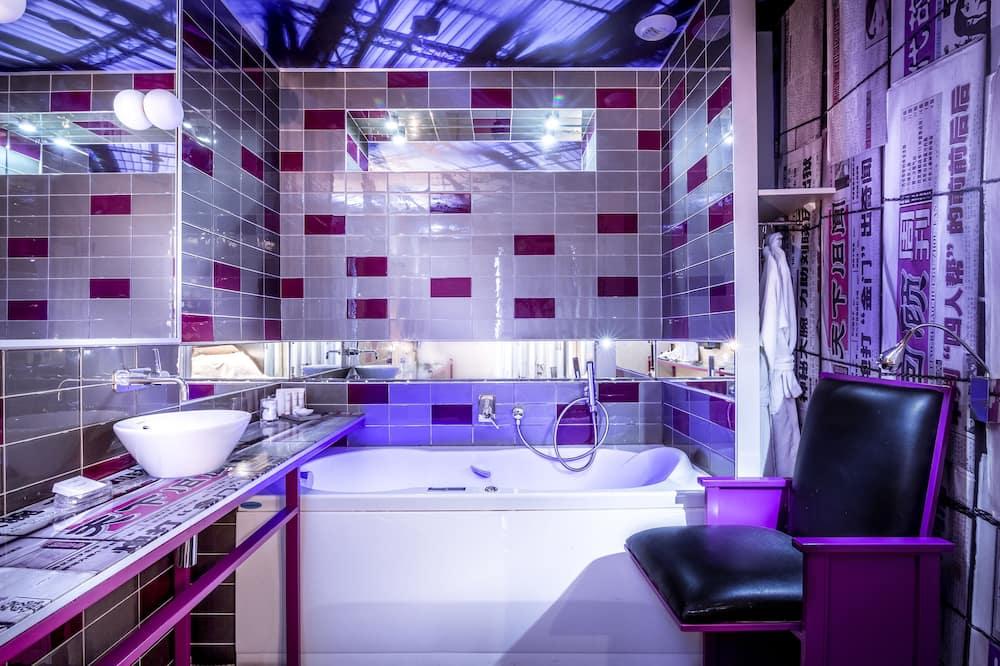 雙人房 (Balneo Chromothérapie) - 浴室
