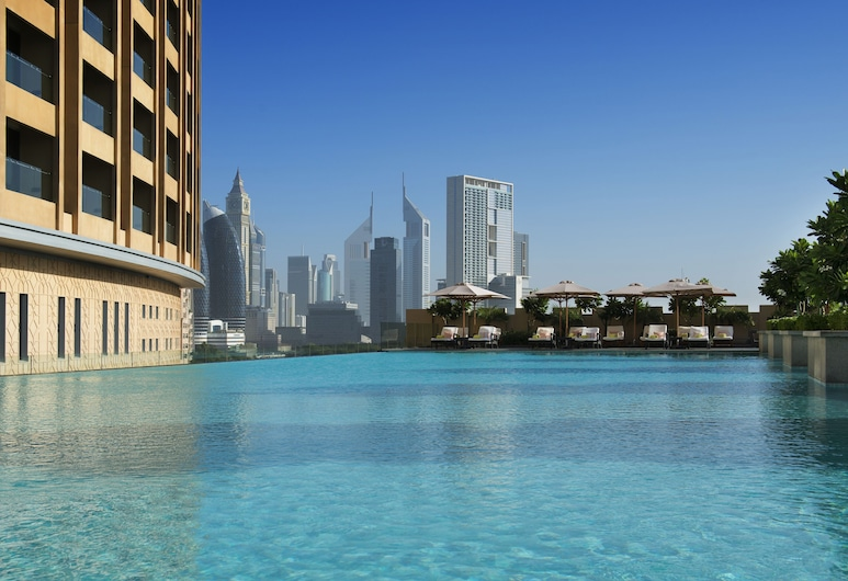 Address Dubai Mall, Dubai, Utomhuspool