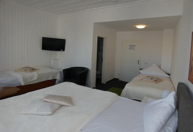 ホテル ウォルター, ブレーメン, 4 人部屋 バリアフリー, 部屋
