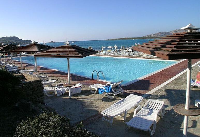 Club Hotel Ancora, Stintino, Bazén na streche