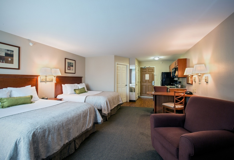 Candlewood Suites Indianapolis Northwest, Indianapolis, Studio, 2Queen-Betten, Nichtraucher, Zimmer