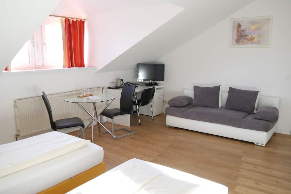 Basic Triple Room - Living Area