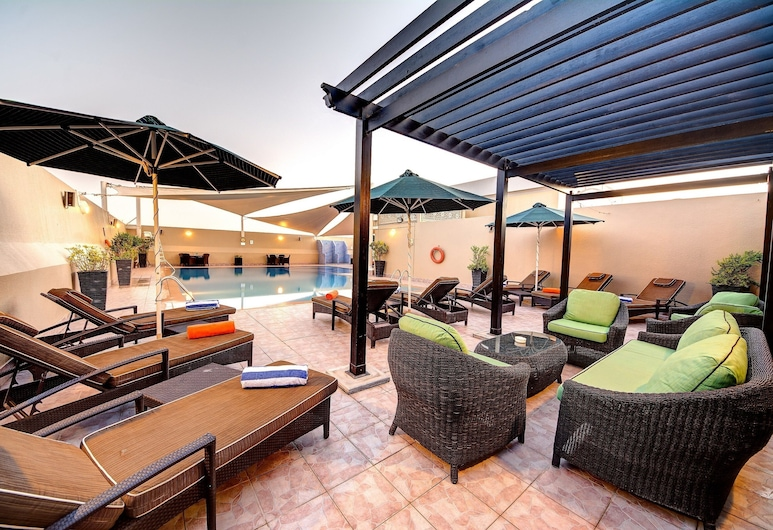 Al Khoory Hotel Apartments, Dubai, Terrace/Patio