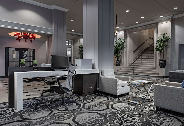 DoubleTree Suites by Hilton Detroit Downtown - Fort Shelby, Detroit, Lobby