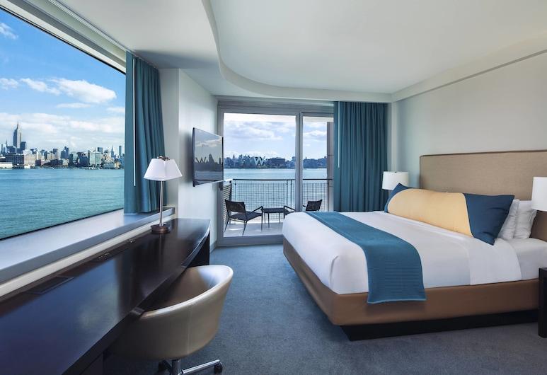 W Hoboken, Hoboken, Cool Corner Room, Room, 1 King Bed, River View, Corner, Guest Room