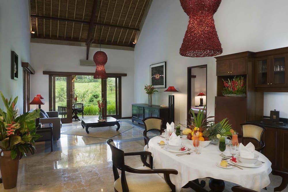 Villa, 2 magamistoaga (Cempaka) - Einetamisala toas