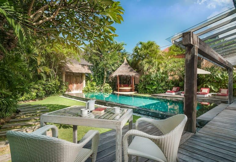 Space Villas Bali, Seminyak, Villa, 2 hálószobával, privát medence, Terasz/udvar