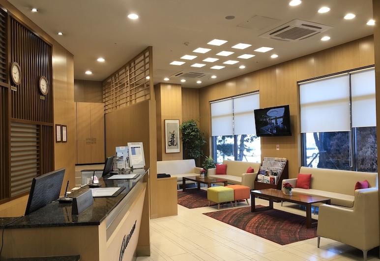 東灘溫德姆華美達飯店, 華城, 櫃台