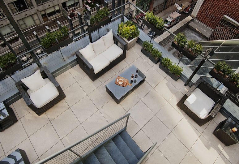 The Carvi Hotel New York, Ascend Hotel Collection, Nova York, Terraço/pátio