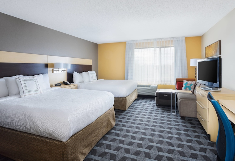 TownePlace Suites By Marriott Shreveport Bossier City, Bossier City, Studio, 2 queensize-senger, ikke-røyk, Gjesterom