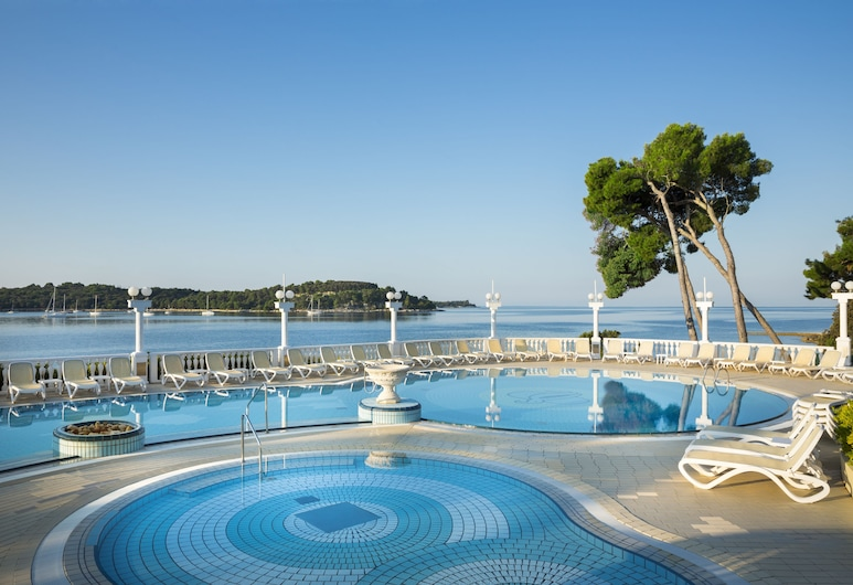Hotel Katarina, Rovinj, Kültéri medence