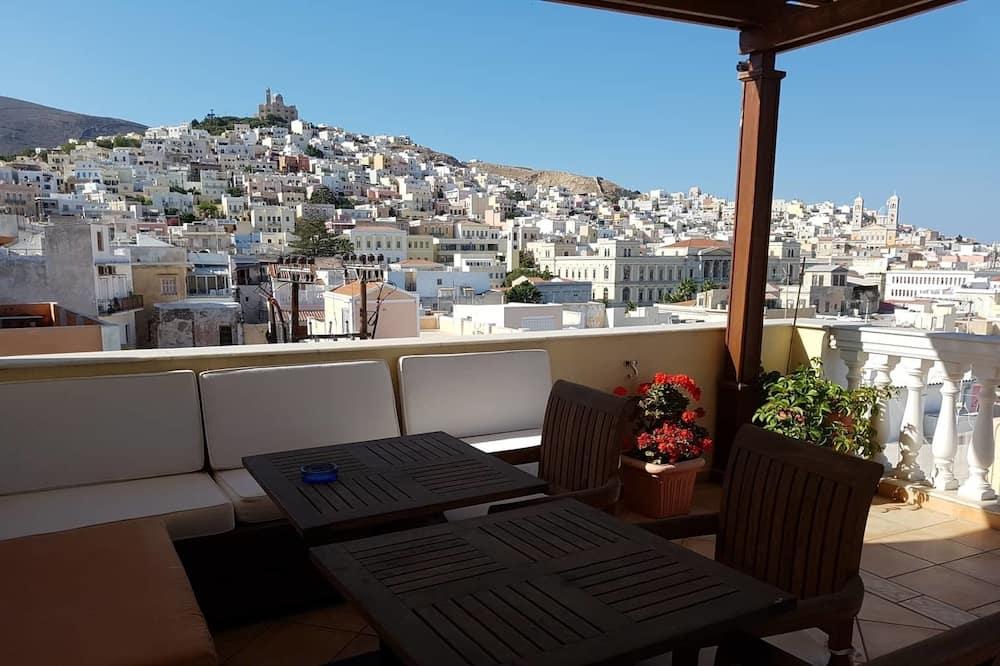 Doppel- oder Zweibettzimmer, Stadtblick - Balkon
