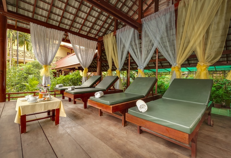 Angkor Paradise Hotel, Siem Reap, Terrasse/Patio