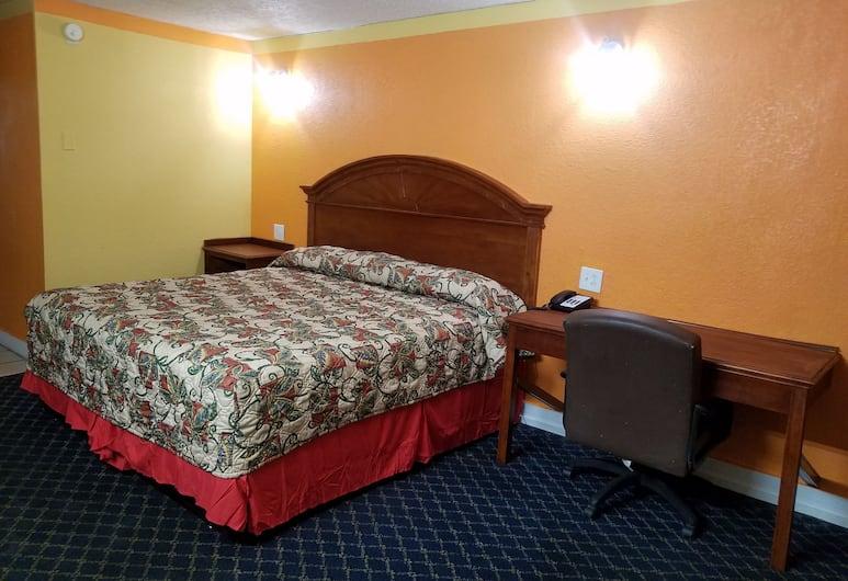 Regency Inn- Fort Sam Houston, San Antonio, Basic Tek Kişilik Oda, 1 En Büyük (King) Boy Yatak, Sigara İçilmez, Oda