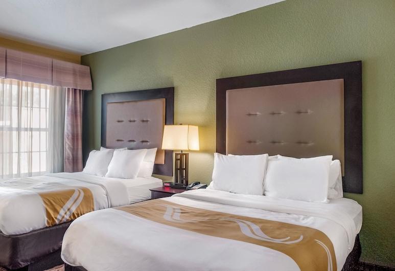 Quality Inn & Suites, Slidell, Standarta numurs, 2 divguļamās karalienes gultas, nesmēķētājiem, Viesu numurs