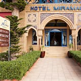 Hotellets front
