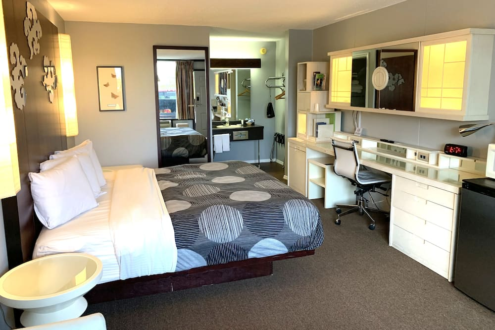 Deluxe Δωμάτιο, 1 King Κρεβάτι, Καπνιστών - Δωμάτιο επισκεπτών