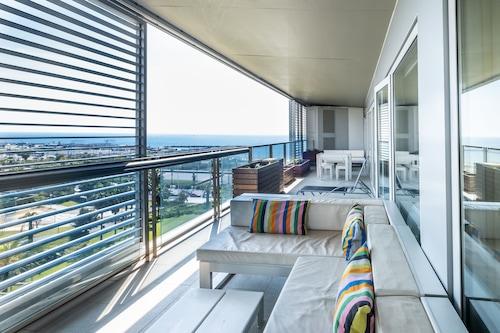 馬爾海灘對角線頂級出租公寓酒店/