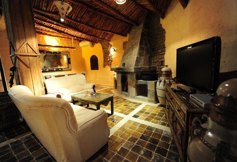 Kasbah Hotel Tombouctou, Taouz, Royal-sviitti, Vierashuone
