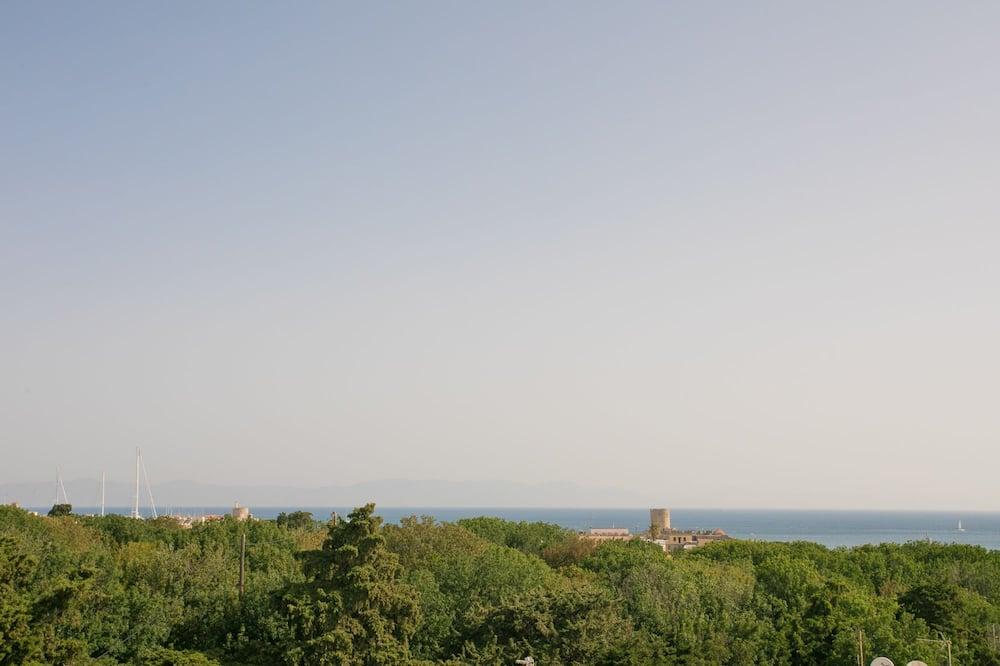 Izba s dvojlôžkom alebo oddelenými lôžkami - Výhľad z balkóna