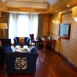 特級套房, 1 張特大雙人床 - 客廳