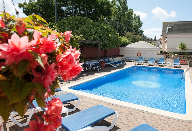 Hampshire Hotel, St. Helier, Pool
