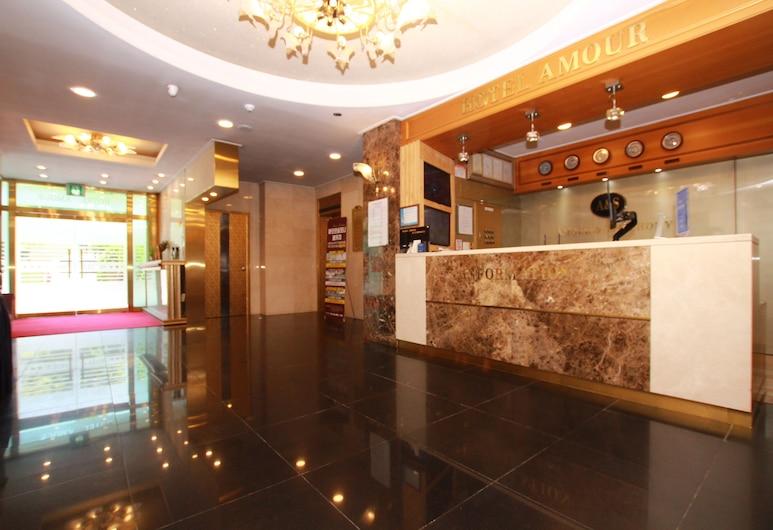 Amour Hotel, Suwon, Reception