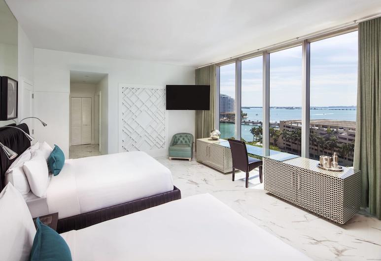 W Miami, Miami, 2 Bedroom, Wow Suite , Gästrum