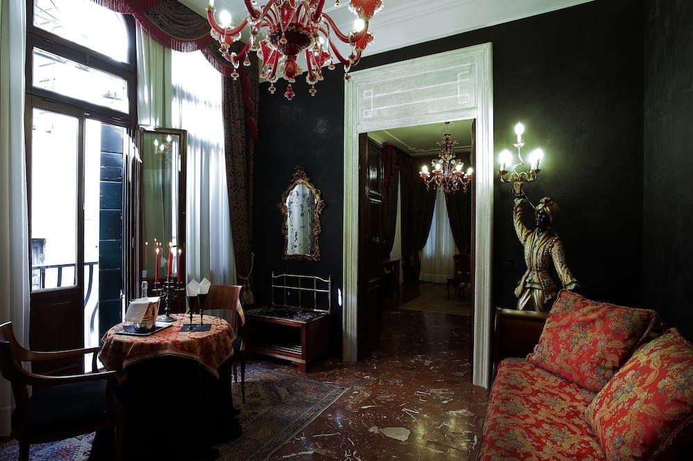 Apartament typu Junior Suite (Diamond) - Powierzchnia mieszkalna