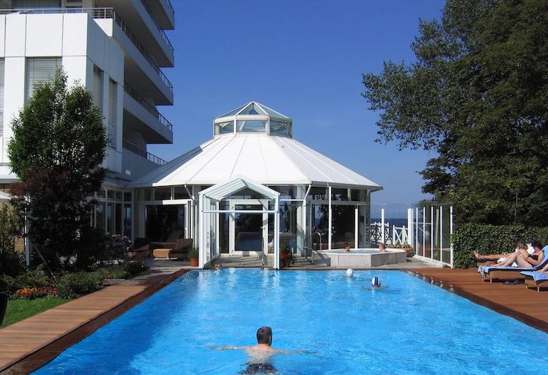 Grand Hotel Seeschlösschen SPA & Golf Resort, טימנדורפר סטראנד, בריכה חיצונית