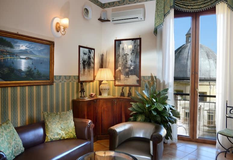 平托樓酒店, 那不勒斯, 大堂閒坐區