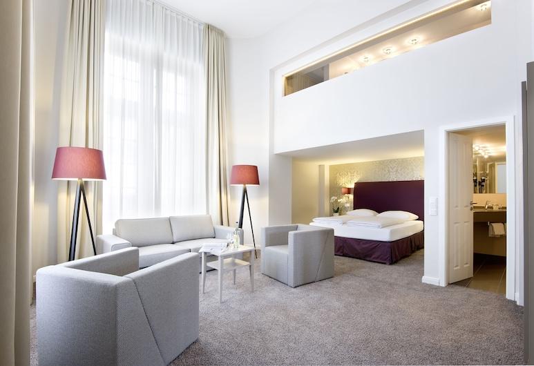 Hotel Moselschlößchen, Traben Trarbach, Suite, Zona de estar