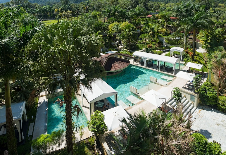 The Royal Corin Thermal Water Spa & Resort, La Fortuna, Blick vom Hotel