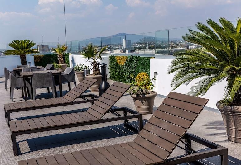貝斯特韋斯特普拉斯歷史中心大酒店, 瓜達拉哈拉, 泳池