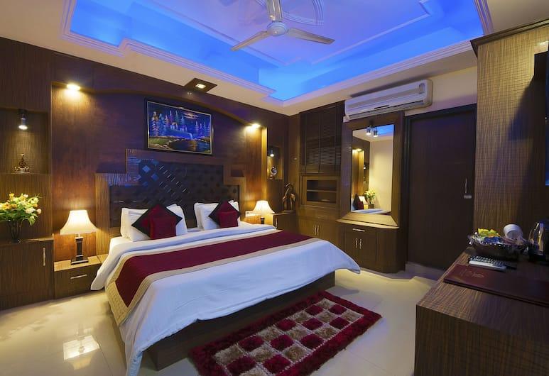 Airport Hotel Vishal Residency, New Delhi, Executive tweepersoonskamer, 1 tweepersoonsbed, niet-roken, Kamer
