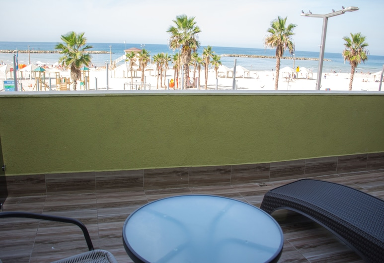 Golden Beach Hotel Tel Aviv, Tel Aviv, Deluxe Room, Balkoni