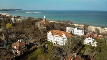 Nuotrauka: Hotel Villa Baltica, Sopotas