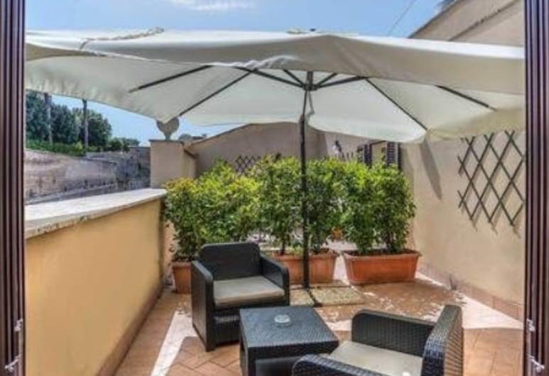 Tmark Hotel Vaticano, Roma, Suite junior, balcón, vistas a la ciudad, Terraza o patio