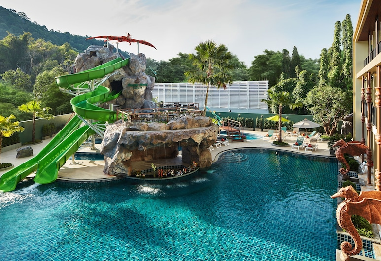 Ananta Burin Resort, Krabi, Udendørs pool